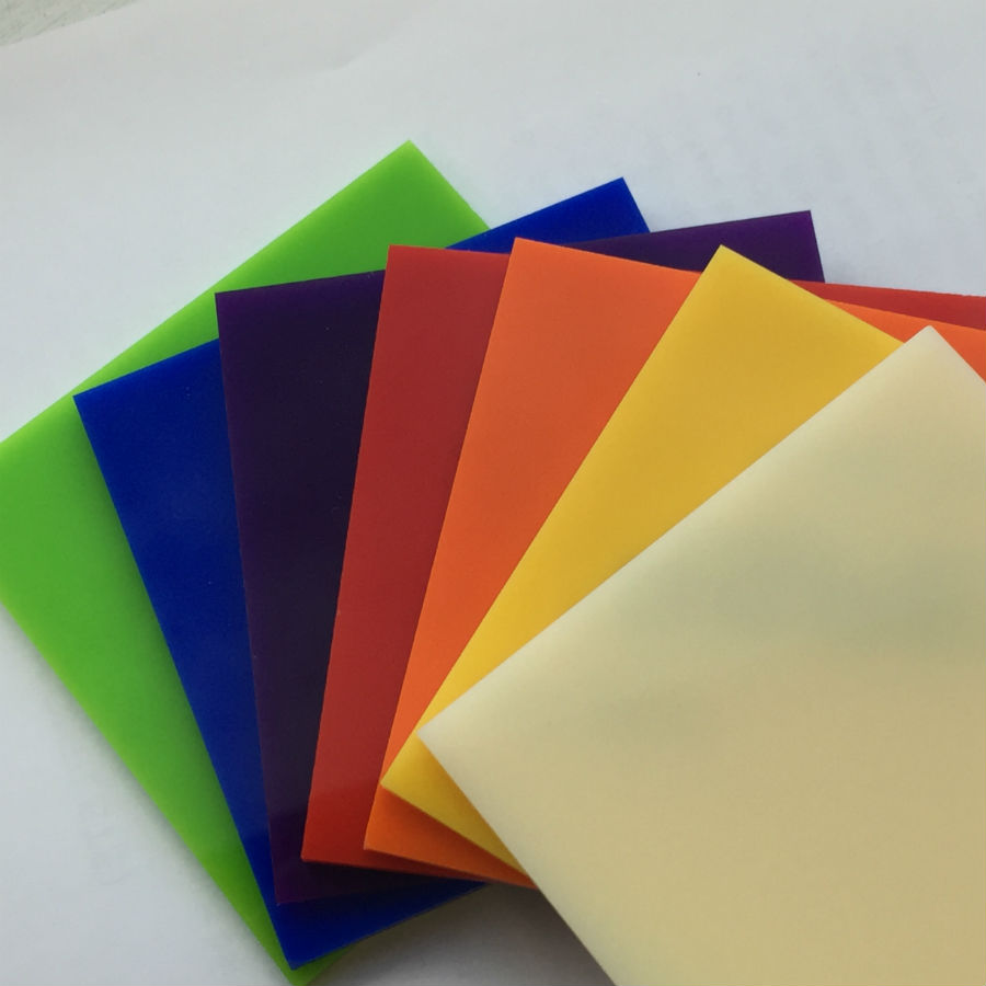 Cut to size coloured acrylic perspex the plastic people for Glass or acrylic