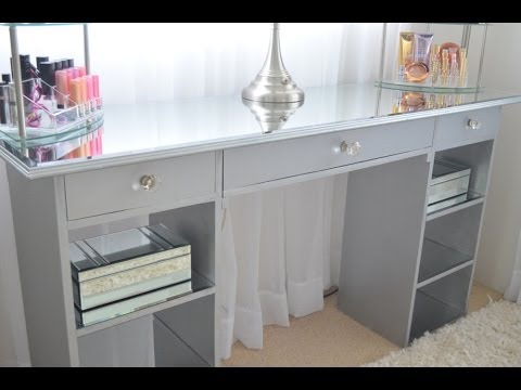 Silver Acrylic Mirror Furniture Protectors