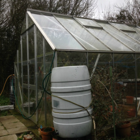 Virtually Unbreakable Greenhouse Glazing