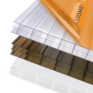 Twin and Multiwall Polycarbonate - Opal & Bronze Sheets