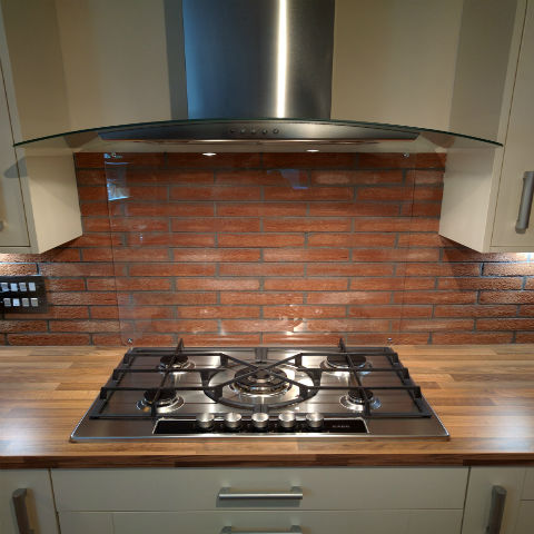 Clear Acrylic Splashbacks