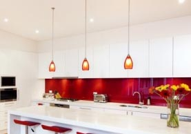 Coloured Splashback