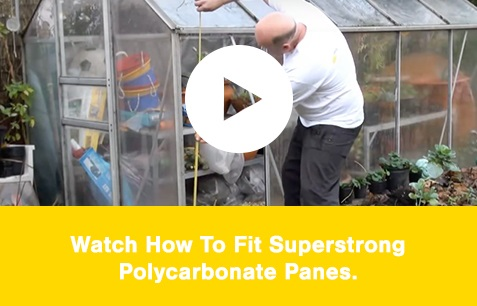 Watch our Polycarbonate Greenhouse Glazing Cut To Size video