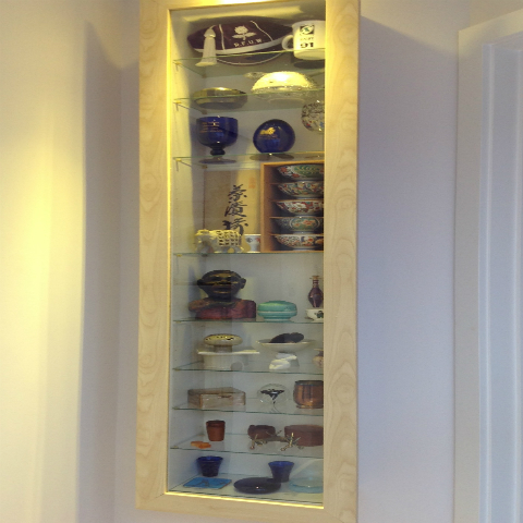 Replacement Glass for Display Cabinet