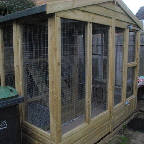 Cattery Cage