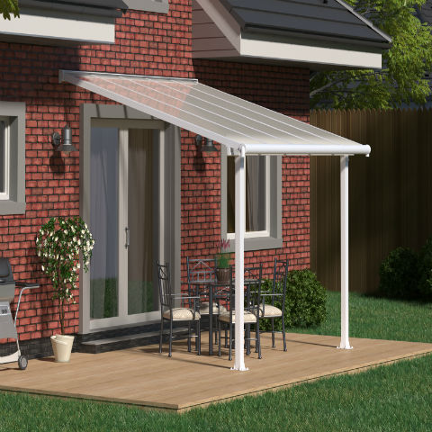 Olympia White Patio Cover image