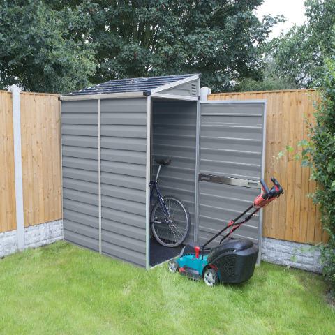 Plastic Pent Shed 6ft x 4ft