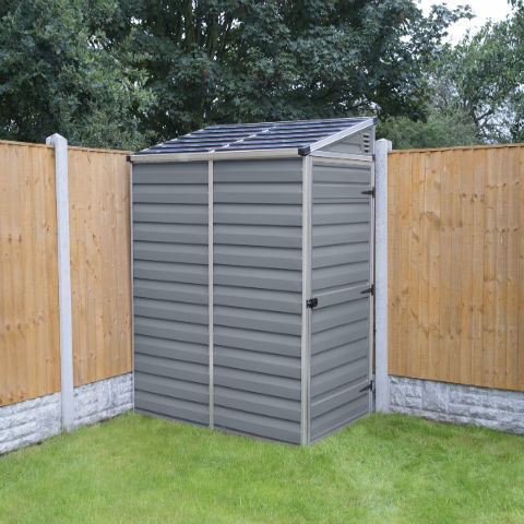 Plastic Pent Shed 6ft x 4ft image