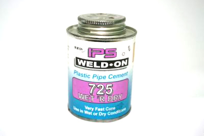 Wet & Dry PVC Cement 240ml