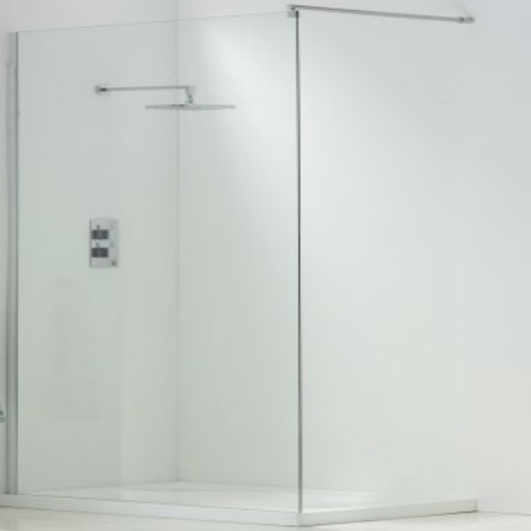 3 Panel White Shower Kit