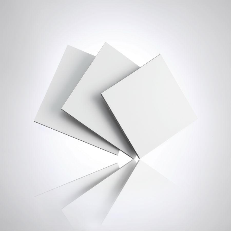 White Aluminum Composite Panel : White aluminium composite sheets the plastic people