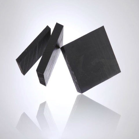 Black Nylon 6 Sheets - Extruded image