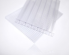 Twin and Multiwall Polycarbonate Clear Sheets image