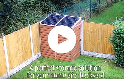 Watch our Plastic Pent Shed 6ft x 4ft video