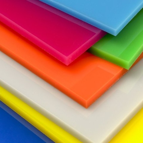 Coloured Perspex® Sheets - Cut to Size