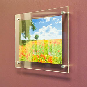 Wall Mounted Acrylic Photo Frames