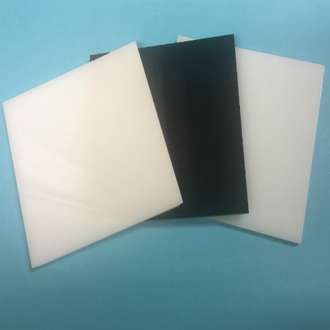 Black, White and Opal Cast Acrylic Sheets