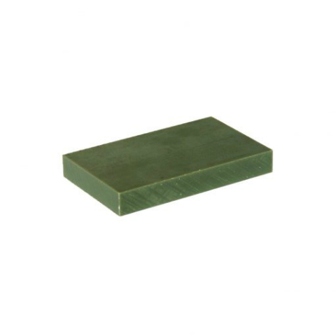 Green Nylon 6 LFX Sheets Oil Filled - Cast image
