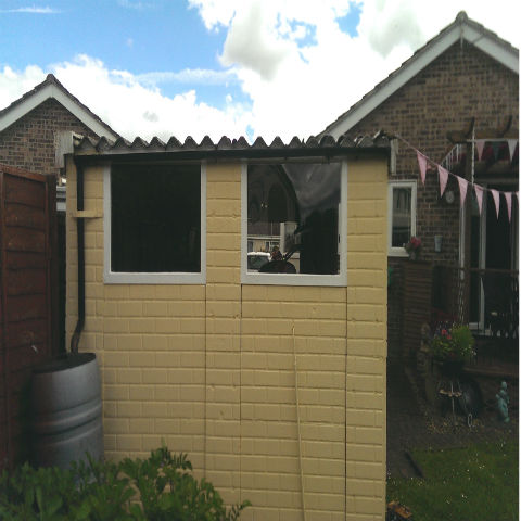Plastic Summerhouses and Sheds