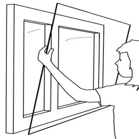 Magnetglaze Secondary Glazing Kit