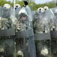 police riot shields are made from polycarbonate