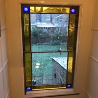 Magnetglaze for stained glass window