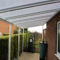 Polycarbonate patio cover makes great carport