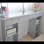 Plastic Mirrored dressing table top