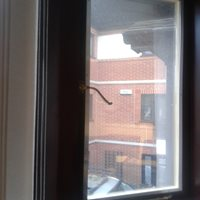 Secondary glazing reduces draughts